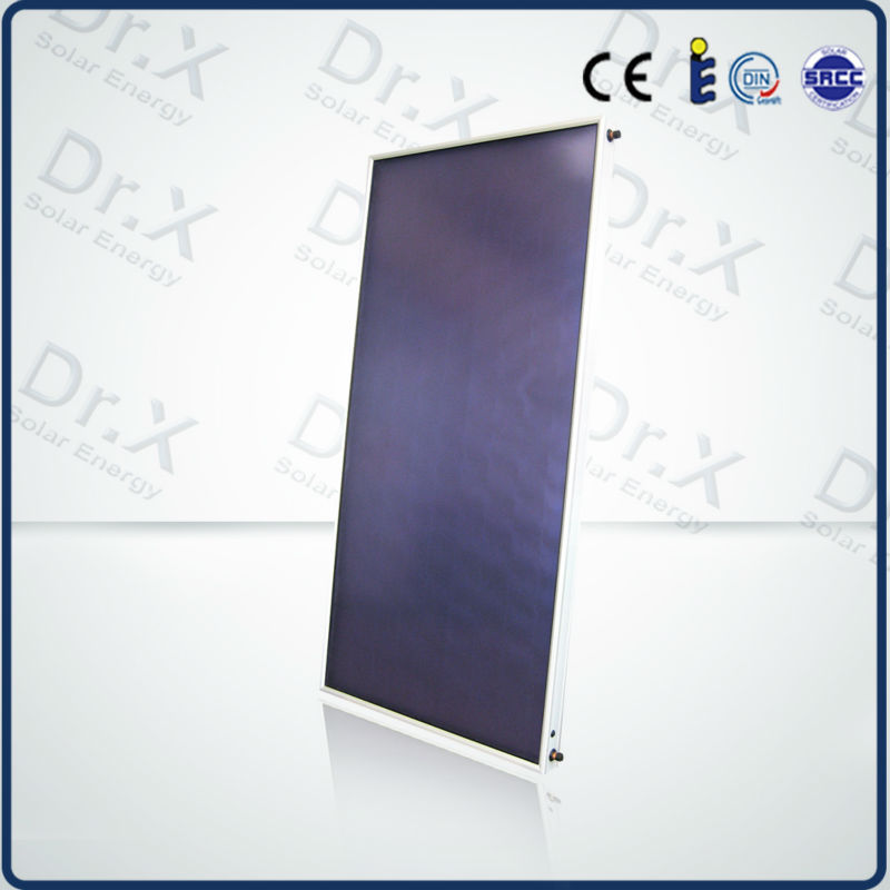 Flat plate Solar Panel Heating Hot Water