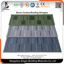 Wholesale Price corrugated aluzinc steel roofing sheet materials, color stone chips coated roof tiles price in the philippines