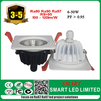 Full Waterproof Led Cob surface mount bathroom light, 6-50w , with waterproof or non-waterproof drivers
