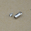 BXG035 High Quality wholesale cheap Stainless Steel cord end clip Jewelry Findings & Components