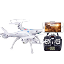 Radio control toy Syma X5SW long range rc quadcopter drone with hd camera WiFi