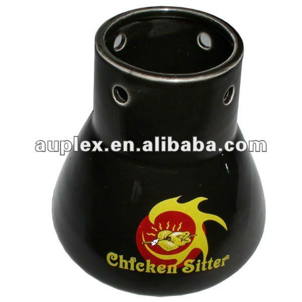 Ceramic Durable BBQ Roaster Manufacturer/Chicken Sitter