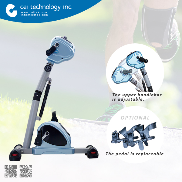 All Ages Stroke Prevention Stroke Rehab Physiotherapy Equipment Exercise Bike