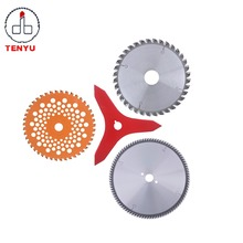 Top supplier tct circular saw blade sharpening cutting saw blade brush cutter blade 3t for wood aluminum grass