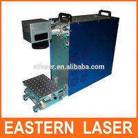 Wuhan Eastern YAG/diode /UV/Green / fiber laser marking machine price for date code text engraving with red preview rotation