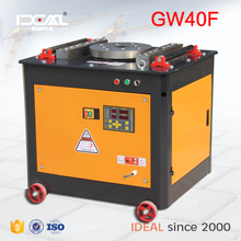 GW40F digital control CNC automatic 6-40mm 50mm steel bar bending machine steel bar bender steel bar bend tool