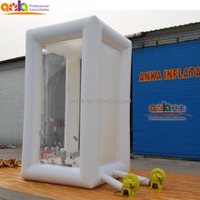 Portable inflatable money booth / cash cube / box for sale