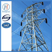 Sold 220kv steel tower for power lines