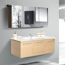 wall mounted waterproof bathroom cabinet furniture with cheap price
