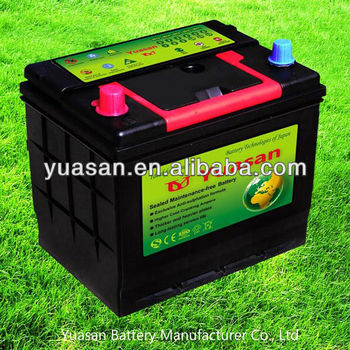 Lead Acid Maintenance Free Sealed 12V Rechargeable Battery 12V50AH for Cars