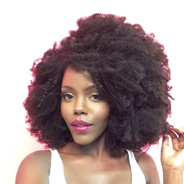 Virgin afro kinky human hair wig for sexy black women remy brazilian hair whoelsale full lace wig