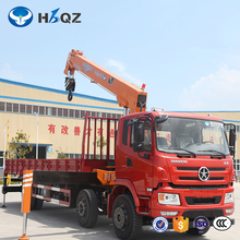 HBQZ SQ14S4 14 tons small lifting pickup arm hydraulic truck crane