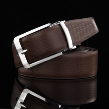 fine men's dress leather reversible belt classic designs removable buckle