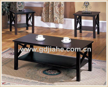 antique black coffee table with stools ,artistic coffee table