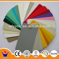 Thermoplastic powder coat paint