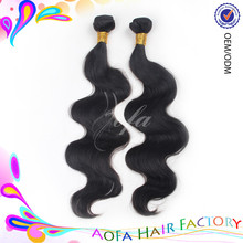 2014 wholesale 6A grade natural color hair product for south africa