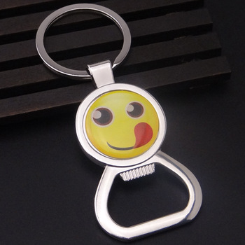 Fast delivery metal christmas wholesale ordering a bottle opener keychain factory production holder for gift
