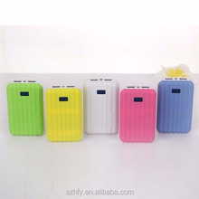 18650 li ion battery online shopping luggage 8000mah dual usb charger power bank