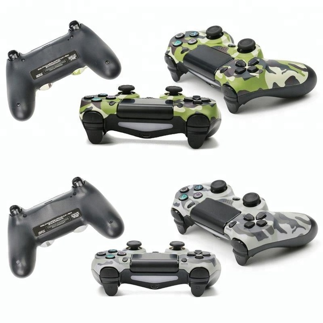 HOT Wireless camouflage Game Pad Controller for PlayStation Joystick Wired Controller for PS4 Game Pad