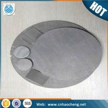 1 2 5 10 20 Microns Porosity metal filter disc Sintered stainless steel Filter Disc