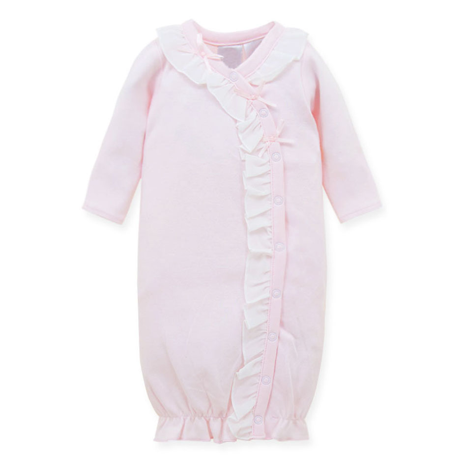 Wholesale Winter Wear Soft Cotton Long Sleeve Baby Nightgown For Girl