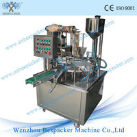 Plastic cup filling and sealing machine/koyo water machines