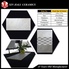 250x400mm WT0046 Latest Design Decorative Bathroom Wall Tiles