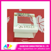 customized low price plastic Dessert cakes packaging box