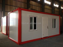2015 picture frame prebuilt container houses low cost prefab container house pre-made container house