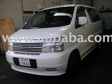 SECOND HAND NISSAN ELGLAND 8 seater family bus