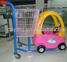 Kids cart shopping car supermarket children trolley