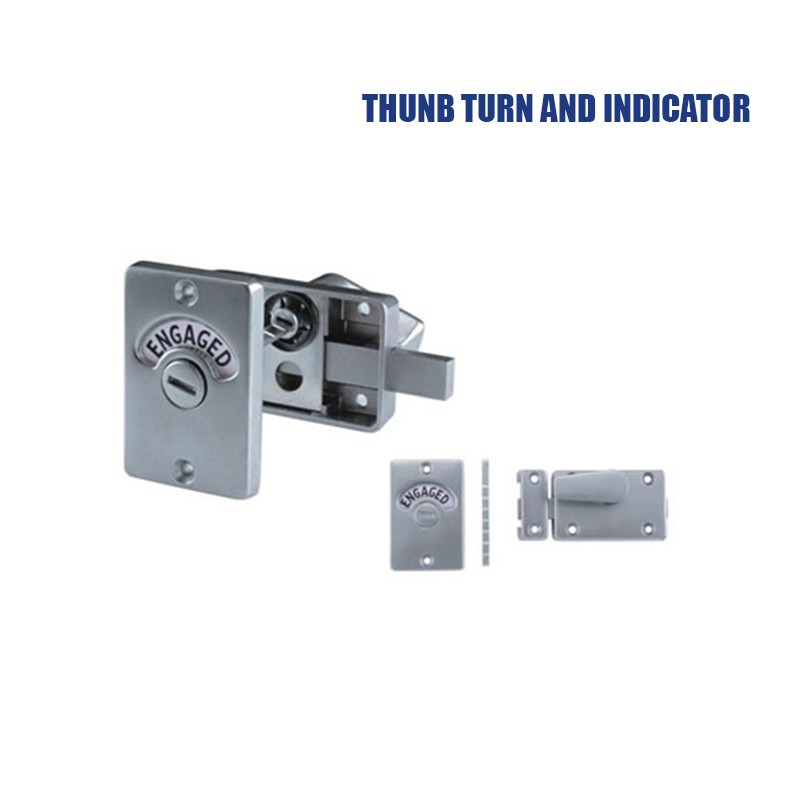 stainless steel partition toilet locks