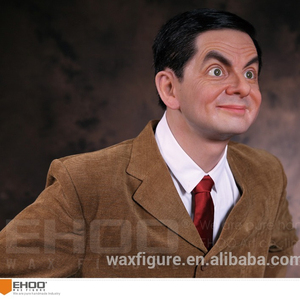 Hot sale custom life size resin wax figure of Mr.Bean