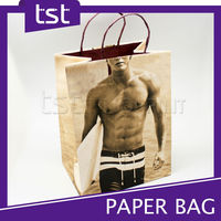 D0003 Customized High Quality Recycled Shopping Printed Bags