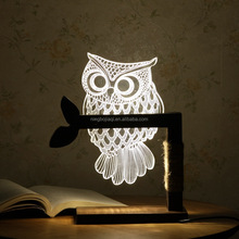 3D Led Night Lamp Night Light Table Lamp