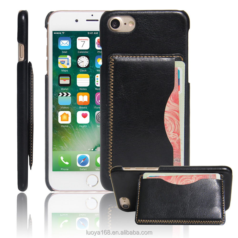 For iPhone 7 PU Wallet Stand Protective Case card holder phone leather case cover Koolife PU stand