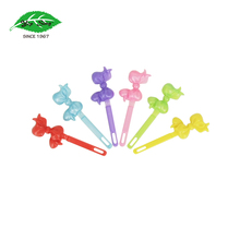 Yip Sing Most Popular Cheap Colorful Bowtie Fancy Plastic Kids Hair Barrettes