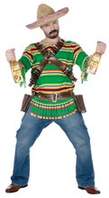 Deluxe Mexican Tequila Pop Dude Adult Costume men costume QAMC-9200