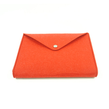 Chinese suppiler custom size simple handmade felt a3 a4 documents bag