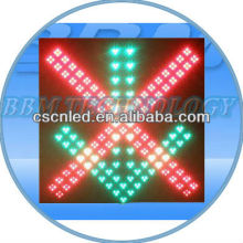 Wholesale red cross green arrow led traffic light