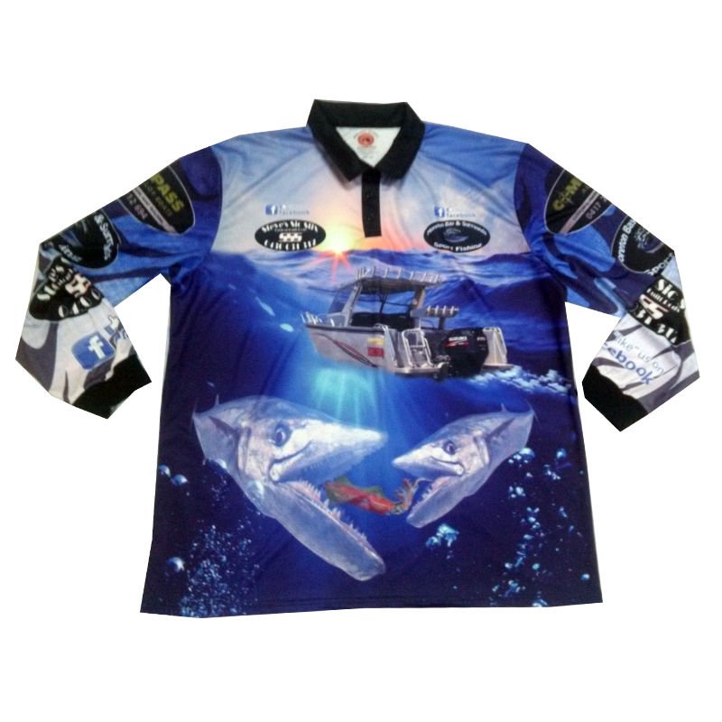 Coolmax long sleeve quick dry fishing shirts buy coolmax for Tournament fishing shirts wholesale
