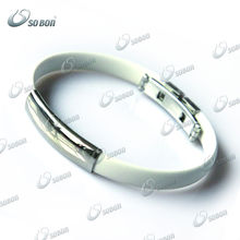 white GT157 2013 latest funny silicone bracelets promotional gift