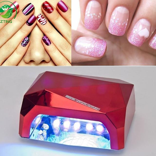 Professional Diamond Lamp 36W CCFL UV Led Nail Lamp For Led Nail Gel