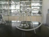 High hardness clear hookah glass crystal borosilicate glass hookah