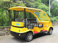 electric sightseeing car for passenger, electric shuttle car for Europe market