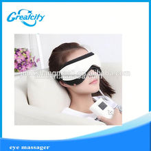 Fashion sleeping cotton disposable eye mask with a pouch