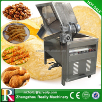 Electric/gas heating potato chips/french fries/groundnut frying machine