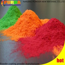 Spray Electrostatic Powder Coat Colors