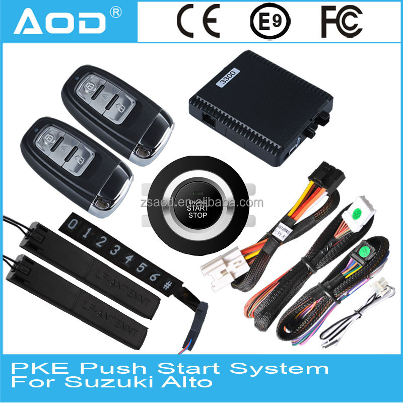 For Suzuki Alto Smart key push button start Remote engine start