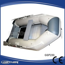 Gather CE certificate plywood deck inflatable boat 300